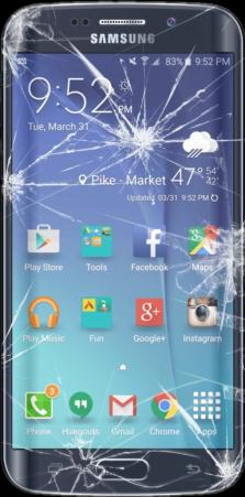 Samsung Phone Cracked Screen Repair i-Station