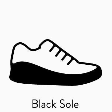 SHOP BLACK SOLE SHOES