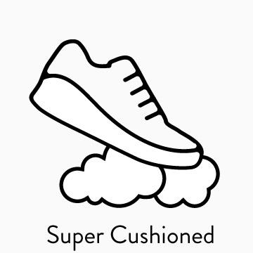 SHOP SUPER CUSHIONED SHOES
