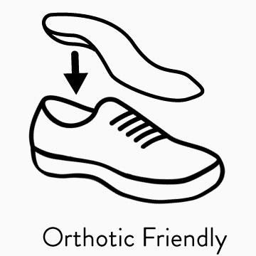 Shop orthotic friendly shoes
