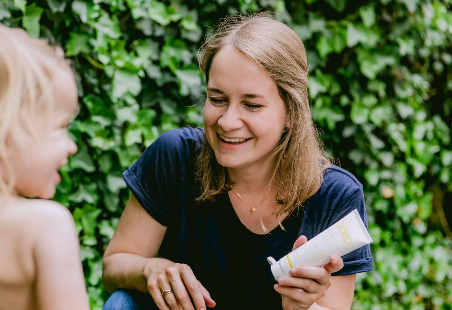 Lerne die boep-Gründerin, Ärztin und Mama Dr. Michaela Hagemann noch besser kennen