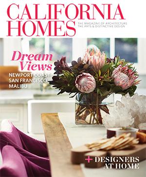 California Homes magazine publication featuring Colette Cosentino