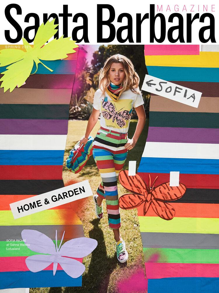 SB magazine publication featuring Colette Cosentino