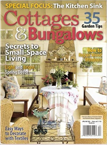 Cottages and Bungalows magazine publication featuring Colette Cosentino