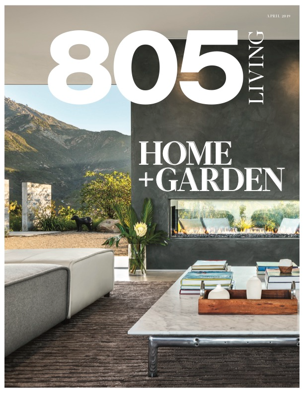 805 Living magazine publication featuring Colette Cosentino