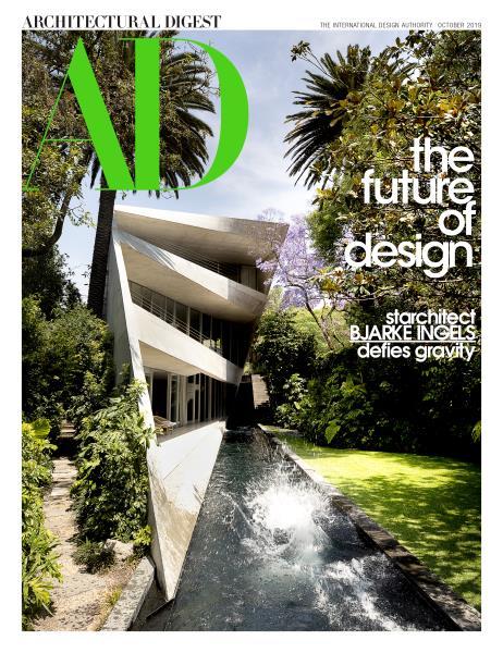 AD magazine publication featuring Colette Cosentino