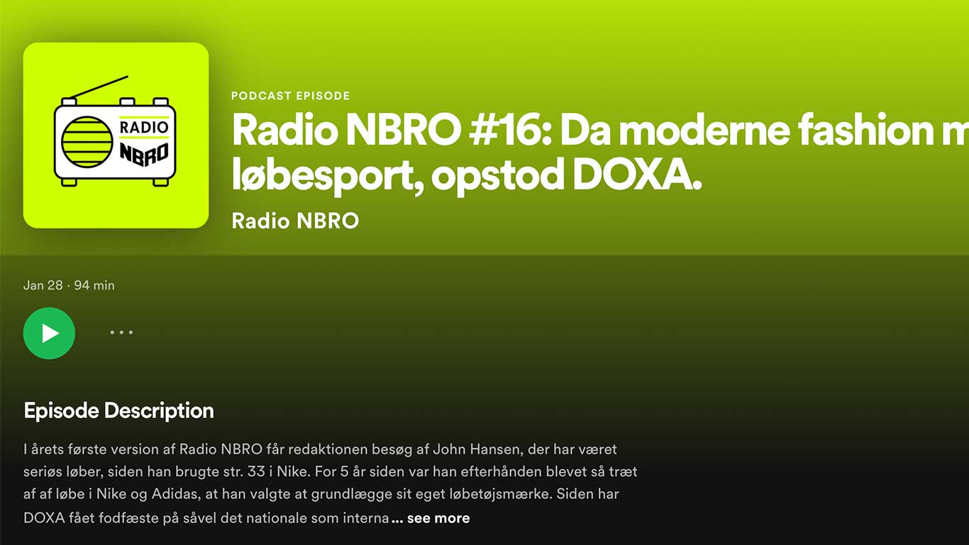 DOXA RUN x Meyers charity collaboration