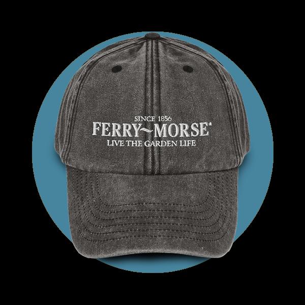 Ferry-Morse Vintage Gray Gardening Hat