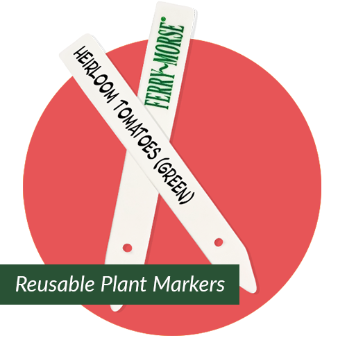 Reusable Plant Markers for Gardening