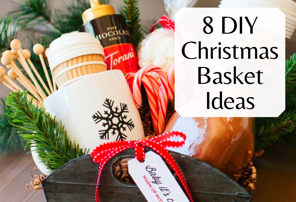 Best Do It Yourself Christmas Basket Ideas to make gifts for family and friends