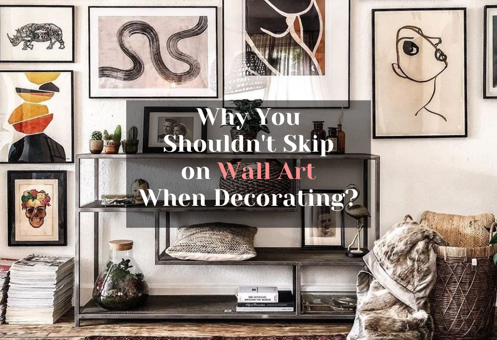 Importance of creating gallery walls on your walls to level up your home's vibe