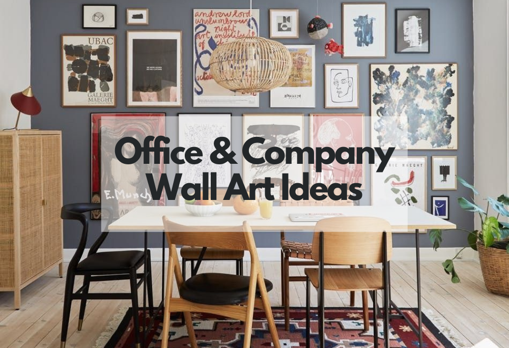 office and company gallery wall ideas to stay motivated