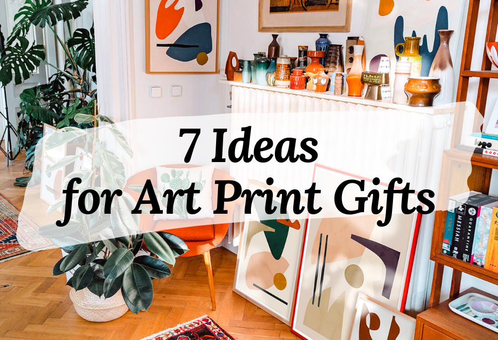 Art ideas for choosing a housewarming gift