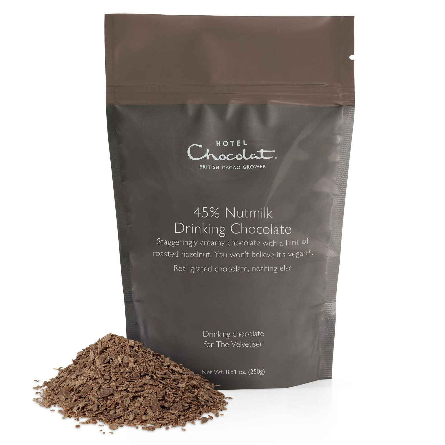 45%ナッツミルクチョコレートフレーク パウチ