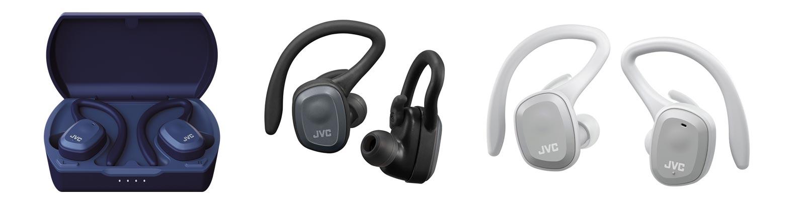 HA-A10T memory foam wireless earbuds