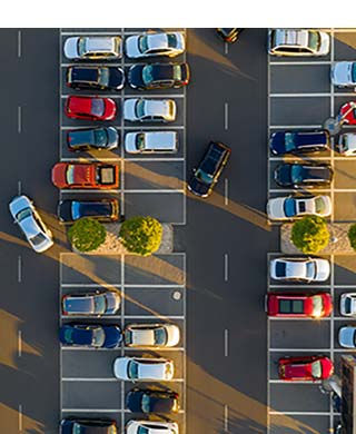 Dash cam smart parking