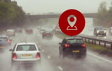 G-Sensor & GPS location dash cam