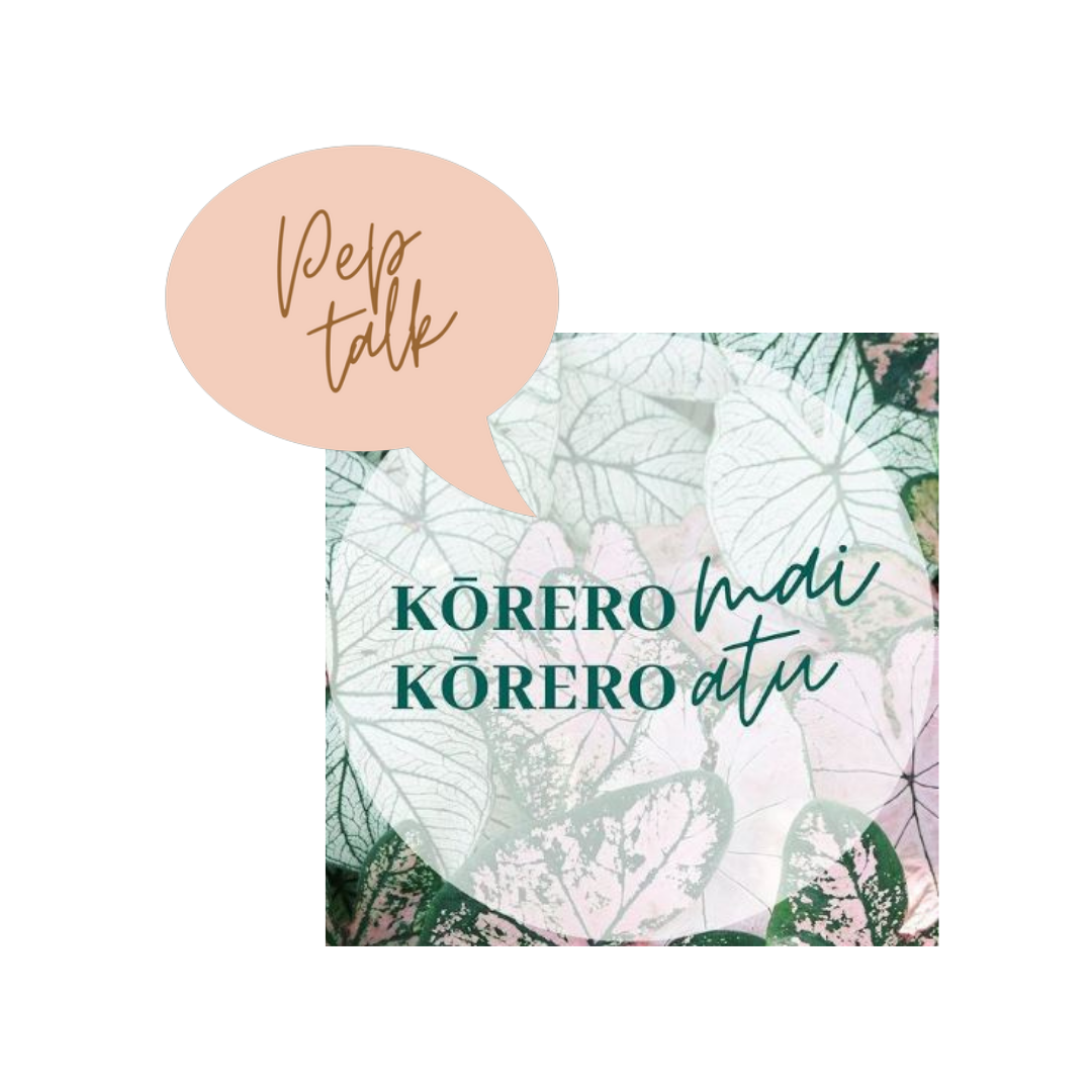 Arohaina's Pep Talk podcast with Grace Kreft