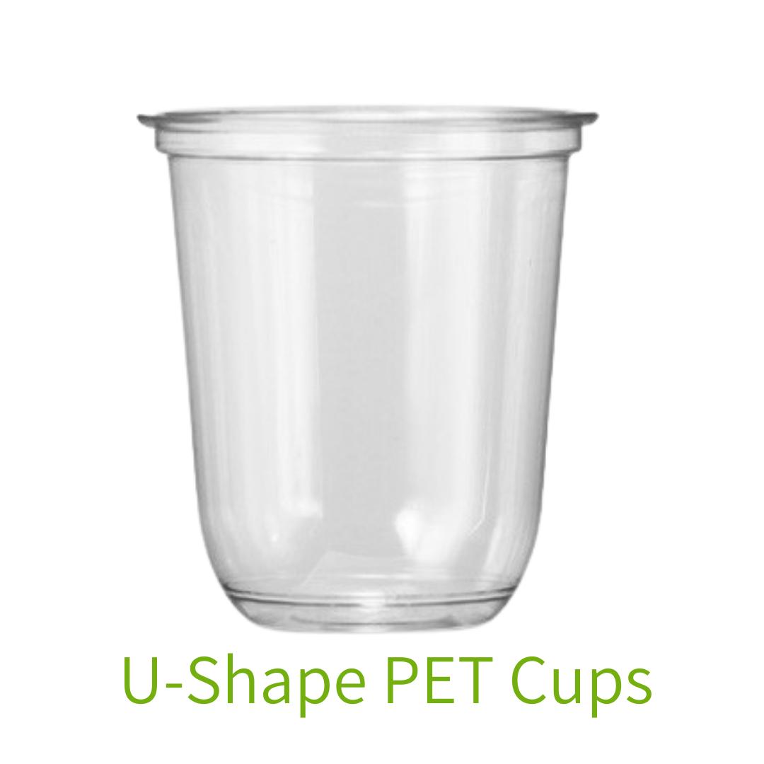 U-Shape PET Cup