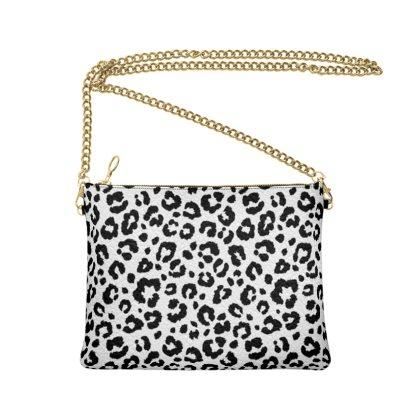 Mono Leopard Crossbody Bag