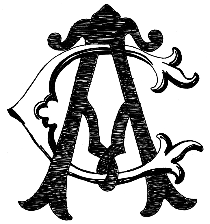 Custom Drawn Monograms