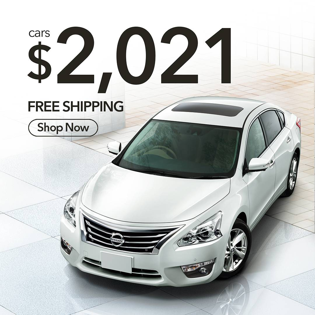 Get your car for just $2021 shipped FREE!