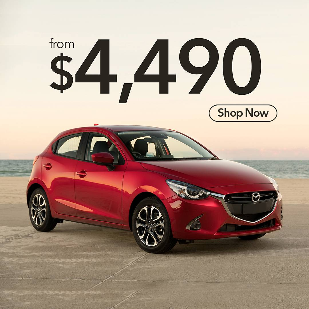Get your 2017 Mazda Demio for just $4490