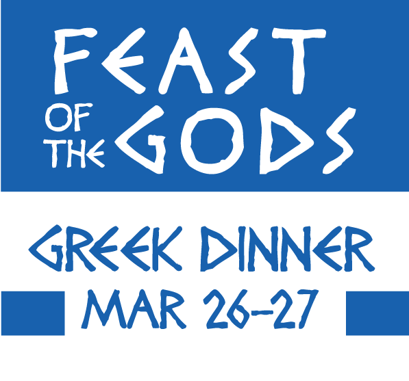 Feast of the Gods Greek Dinner Menu