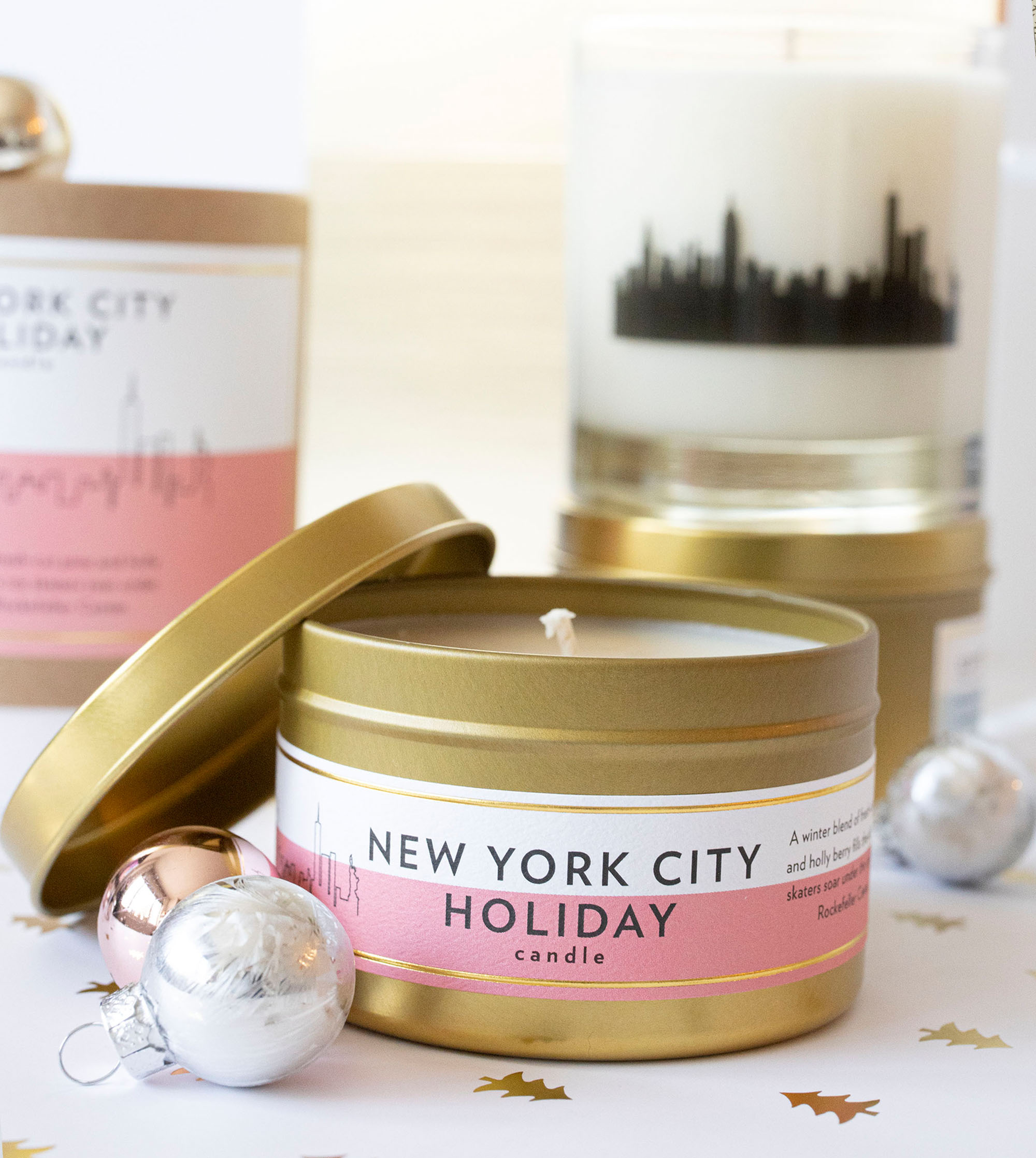 Oprah O Magazine Scripted Fragrance Best Christmas Candle New York City Holiday Candle Winter Candle