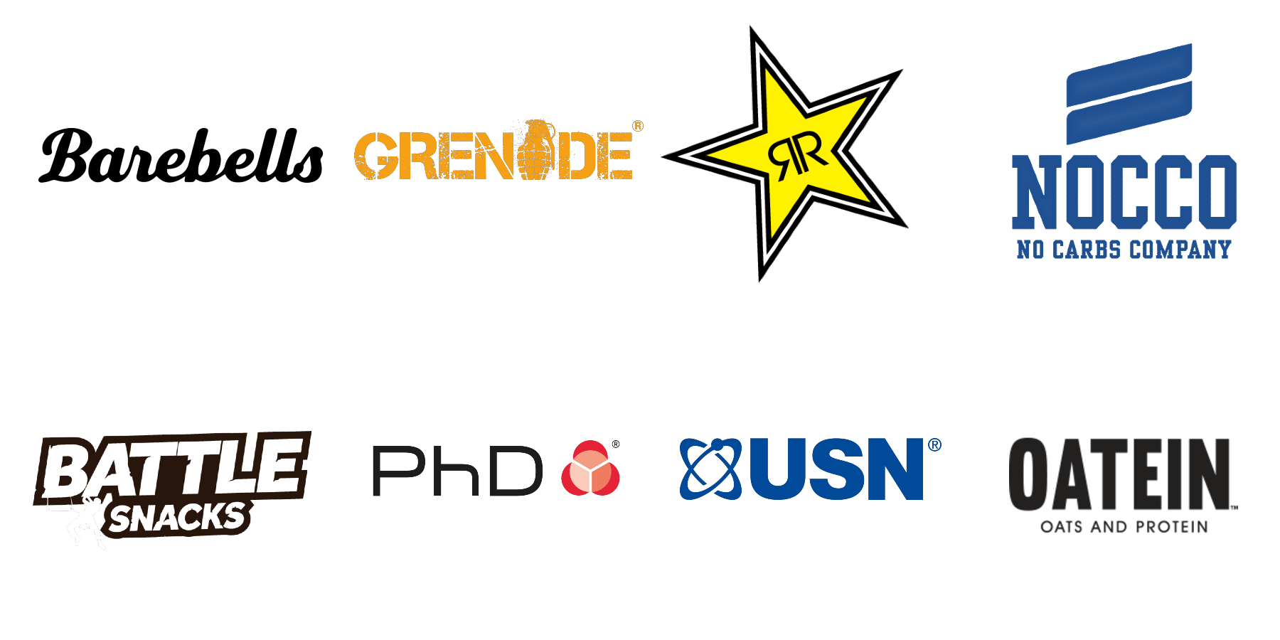 Protein brands logos