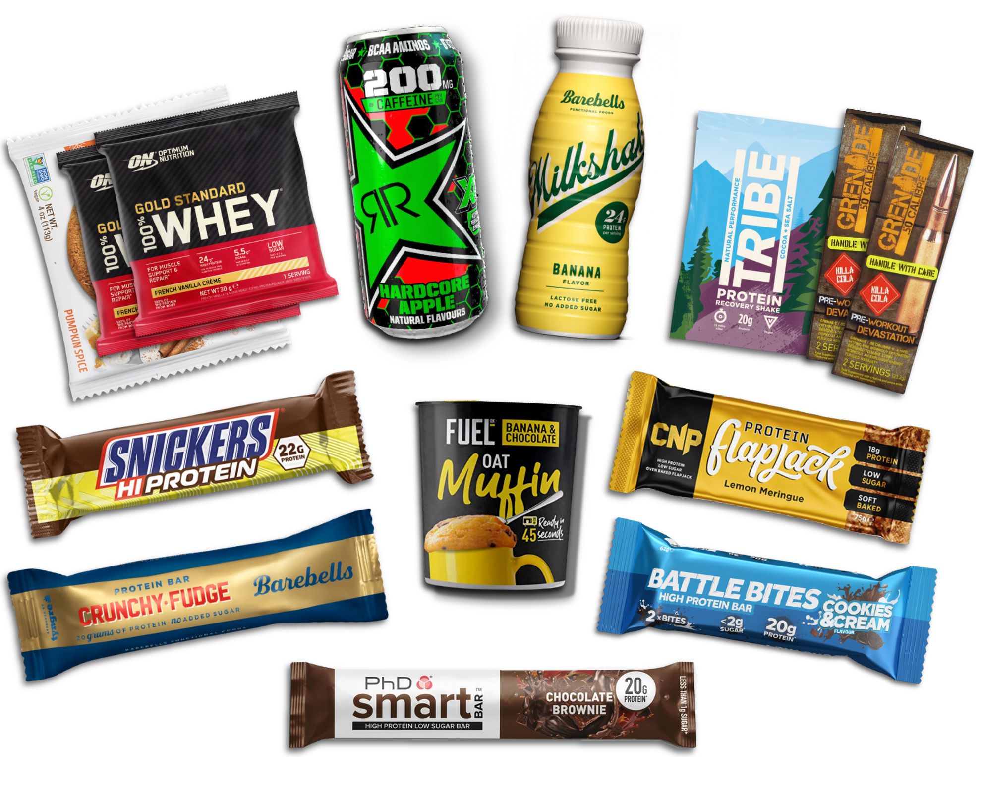Protein Subscription Box Items