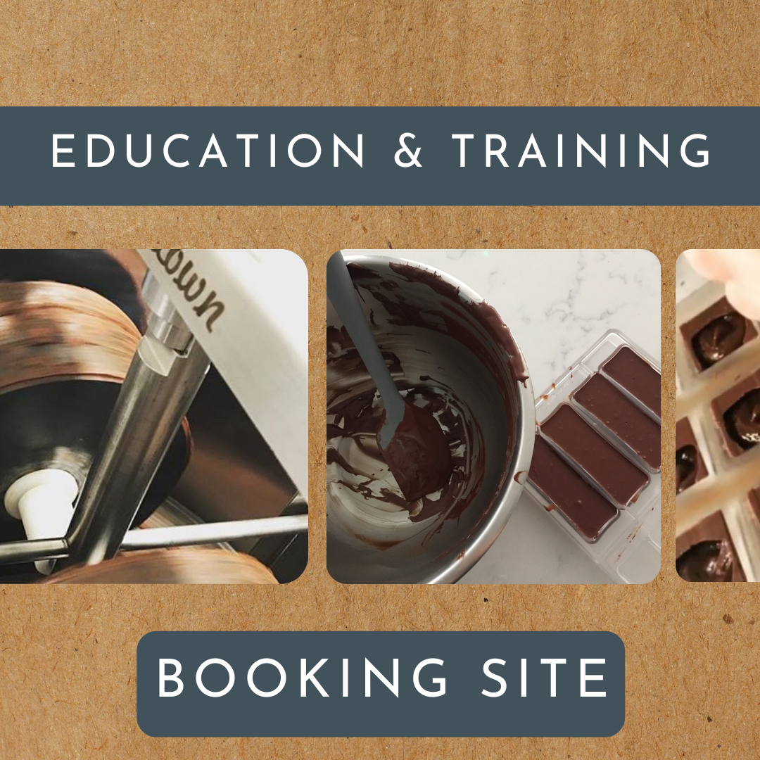 Visit our forthcoming Chocolate Training and Education Program