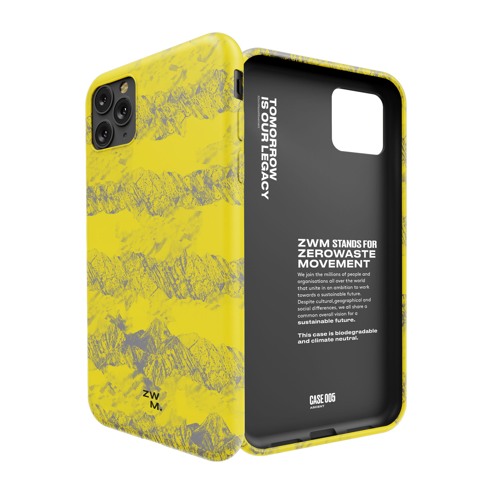 Eco friendly phone case for iPhone 11 - Ascent